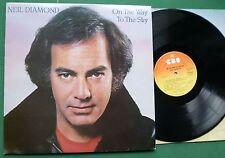 NEIL DIAMOND on the way to the sky Inc vous seul & Be Mine ce soir + 85343 LP