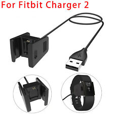 Charger For Fitbit CHARGE 2 Activity Wristband USB Charging Cable Cord Wire