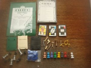 Waddingtons Super Cluedo Challenge Game Spare Playing Pieces / Instructions
