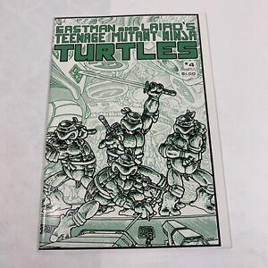 teenage mutant ninja turtles #4  First Print