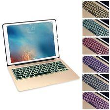 Aluminum Bluetooth Keyboard Case Cover Backlit Keypad iPad Pro 12.9 inch Gold
