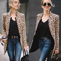 US STOCK Women Slim Casual Business Blazer Suit Jacket Coat Outwear Cardigan Top
