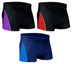 ACCLAIM Fitness Geelong Boxer Trunks Mens Nylon Lycra Swimming Sport Seconds
