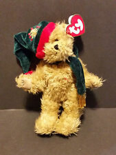 "1993 Ty Plush 8"" Spruce the Winter Bear"