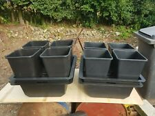 More details for wilma 4 pot complete dripper system grow kit x 2 used