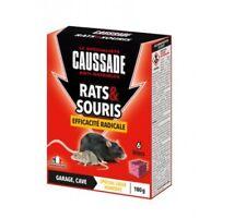 Caussade Carsbl180 Rats & Souris Efficacité radicale - 6 Blocs pour Garage et