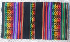 Peruvian  Andean Fabric - Tablecloth - Rug - Blanket