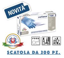 200 Guanti Monouso In TPE Reflexx T22 100% Food Tg. M - L 200 pezzi  No Nitrile