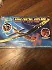 cox sky cruisers radio control airplane new in box 2003
