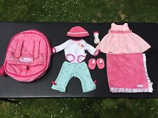 American Girl Bitty Baby - Starter Collection III w/ Backpack Carrier & Blanket