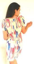Machine Washable Tunic Casual Geometric Dresses for Women