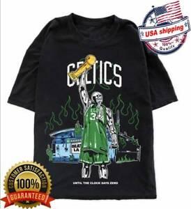 Vintage Boston Celtics Champs T Shirt Vintage Gift For Men Women Funny Black Tee