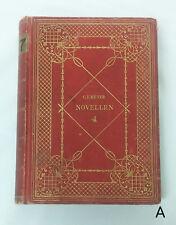 Antique 1902 German Novellen by Conrad Ferdinand Meyer Band 2 Stories