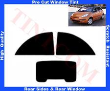 Pellicola Oscurante Vetri Auto Pre-Tagliata Citroen C3 Pluriel 2P 03-10 da5%a50%