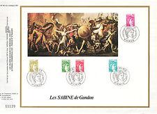 DOCUMENT CEF PREMIER JOUR 1978 LES SABINE DE GANDON