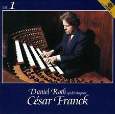 DANIEL ROTH - Plays Cesar Franck, Vol. 1 (CD, 1992, Motette) Germany
