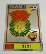 FIGURINE PANINI CALCIATORI SCUDETTO BADGE N.382 SSSR ESPANA 82 1982  NEW-FIO