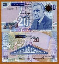 Ireland Northern, Danske Bank, 20 pounds, 2012 (2013), P-New, AA-Prefix, UNC