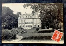 CPA. SAINT LEU. 95 - Le Château de la Chaumette. Façade est.
