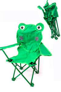 Kinder Garten Klapp-Stuhl Frosch ab 18 M+ Campingstuhl Kinder Klapphocker NEU