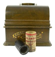 Hindustan Fox Trot Band 3439 Vintage Antique Columbia Wax Cylinder Record