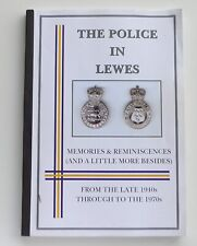 More details for the police in lewes memories & reminiscences  1940s - 1970s east sussex