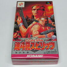 Contra Spirits Nintendo Super Famicom Japan Japanese * Original * Tested