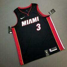 100% Authentic Dwyane Wade Nike Miami Heat Icon Jersey Size 56 2XL 52 XL Mens