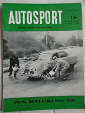 Autosport 30/1/53 Monte Carlo Rally issue