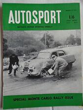 Autosport 30/1/53 Monte Carlo Rally issue