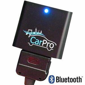 Bluetooth Adapter for 30 Pin iPod Cable for Music in Audi Cars CoolStream CarPro