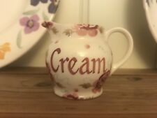 EMMA BRIDGEWATER Rose Tiny Cream Jug New & 1st
