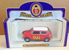 "OXFORD DIECAST LIMITED EDITION MINI COOPER RALLY CAR ""177"" : BOXED:"