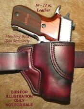 """Gary C's Leather OWB Avenger HOLSTER for Sig Sauer P220 Carry  3.9"""""""