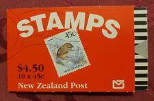 Markenheftchen (MH) Neuseeland Vögel (10) postfrisch **