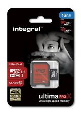 Integral 16GB Micro SDHC Class 10 For HD Action Camera's Dash Cams Camcorder