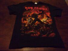 Rob Zombie used mens large tour 2013 t shirt Delta Venomous Rat