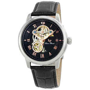Lucien Piccard Optima Open Heart Automatic Men's Watch LP-12524-01-RA