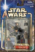 Star Wars Attack Of The Clones Boba Fett Kamino Escape Hasbro 2002