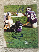 Vikings Jeff Wright Nate Wright signed 8x10 w/COA pose 2