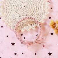 Womens Elastic Hair Band Rope Scrunchie Ponytail Holder Gifts Free size C9K8