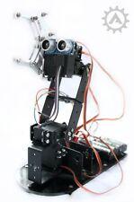 Robotic Arm (Full) Kit - Arduino Inc photographic building & coding instructions