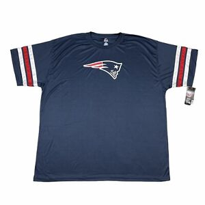New England Patriots Men's Shirt Jersey Size 4XL NFL Majestic Athletic NWT
