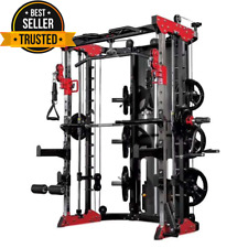 "Body Building CROSSOVER NUOVO multifunzionale Power Cage ""Rack Smith Machine"