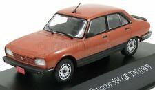 Modellino autosinolancoll010 peugeot 504 gr tn 1985 copper met scala 1/43