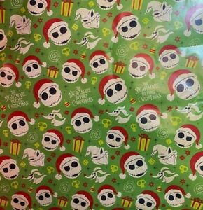 Disney's The Nightmare Before Christmas 60 sq ft Wrapping Paper