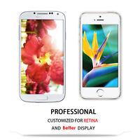 For iPhone 5 5S 5C SE 6 6S+ Plus Premium 100% Genuine Real Tempered Glass Sheild