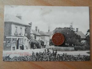 Vintage RP Postcard   Chapel and Post Office Woodchurch Kent - De'Ath