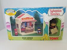 Sylvanian Families Tomy The Post Office with Postman Sam Box 1998 Epoch Critters