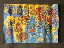 Rare Affiche recto verso de Di Rosa signé dans la planche l'Embarcadère 2005